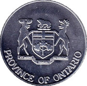 Medallion - Province of Ontario (Elizabeth II Silver Jubilee) – obverse