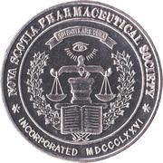 Medallion - Nova Scotia Pharmaceutical Society (Centennial) – obverse