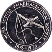 Medallion - Nova Scotia Pharmaceutical Society (Centennial) – reverse