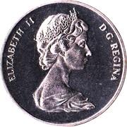 Medallion - Elizabeth II (Royal Visit; Nova Scotia) – obverse
