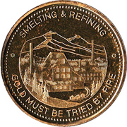 Medallion - Trail, British Columbia (Diamond Jubilee) – obverse