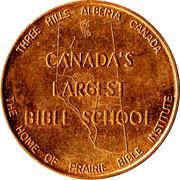 Commemorative Coin - Three Hills, Alberta – obverse