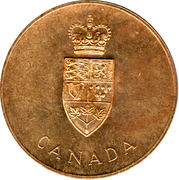 Medallion - Centennial of Canadian Confederation – obverse