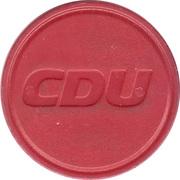 Shopping Cart Token - CDU – obverse