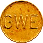 Token - GWE – obverse