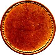 Cumberland Jack Token - Victoria (Blank Reverse) – reverse