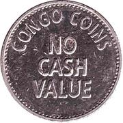 Token - Congo Coins Congo River – reverse