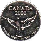 Token - Canada Post (Millennium) – reverse