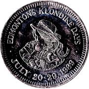 """Token - Edmonton, Alberta """"Klondike Dollar"""" (Non-Redeemable Issue) – obverse"""