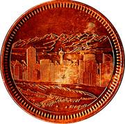 Medallion - Calgary, Alberta (Centennial) – obverse
