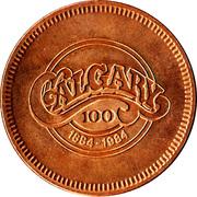 Medallion - Calgary, Alberta (Centennial) – reverse
