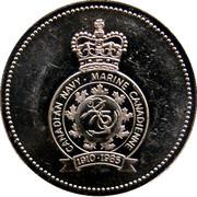 Token - The Navy League of Canada – obverse