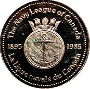 Token - The Navy League of Canada – reverse