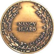 Medal - Nancy Huard (1986 24 June Quebec National Day) – reverse