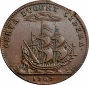 États de Bourgogne - La Bourgogne soutenue par les princes de Condé – reverse