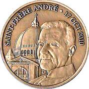 Token - Saint frère André – reverse