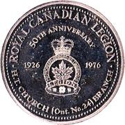 Commemorative Dollar - St. Catharines, Ontario – obverse