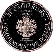 Commemorative Dollar - St. Catharines, Ontario – reverse