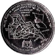 1 Dollar - Yellowhead Region, British Columbia – reverse