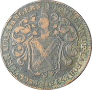 Anjou - Noblesse François Poullain, maire d'Angers – obverse