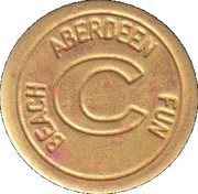 Token - Codona's (Aberdeen) – reverse