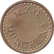 Token - M.Z.G. Munchen 5 – obverse
