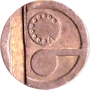 Telephone Token - Entel – obverse