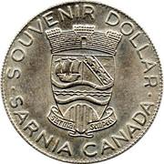 Souvenir Dollar - Sarnia, Ontario – obverse