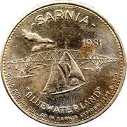 Souvenir Dollar - Sarnia, Ontario – reverse