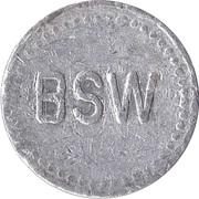 Supermarket deposit token - Flaschen Pfand (BSW; Karlsruhe) – obverse