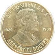 Token - Herbert C. Hoover (31st President) – obverse