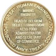 Token - Herbert C. Hoover (31st President) – reverse