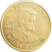 Token - William J. Clinton (42nd President) – obverse