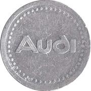 Supermarket deposit token - Flaschen Pfand (Audi) – reverse