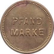 Supermarket deposit token - Pfand Marke RFK – reverse