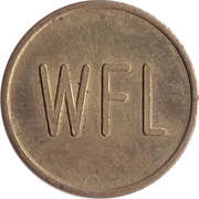 Supermarket deposit token - Pfandmarke WFL – obverse