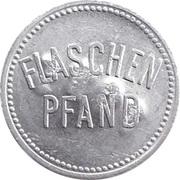 Supermarket deposit token - Flaschen Pfand (with number) – obverse