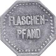 Supermarket deposit token - Flaschenpfand – reverse