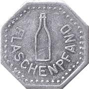 Supermarket deposit token - Flaschenpfand – obverse