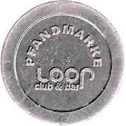 Supermarket deposit token - Pfandmarke (Loop Club&Bar) – reverse