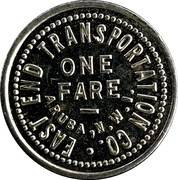 1 Fare - East End Transportation Co. (Aruba, N.W.I.) – obverse