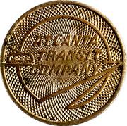 1 School Fare - Atlanta Transit Company – obverse