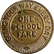 1 School Fare - Atlanta Transit Company – reverse