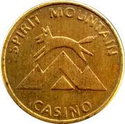 Game Token - Spirit Mountain Casino – obverse