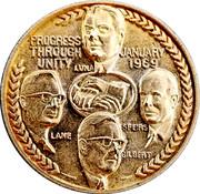 UTU Commemorative Medal – obverse