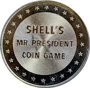 Token - Shell's Mr. President Coin Game (Abraham Lincoln) – reverse