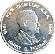 Token - Harry S. Truman – obverse