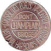 Token - Champlain Bridge (Verdun, PQ) – obverse