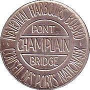 Token - Champlain Bridge (Verdun, PQ) – reverse