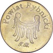 10 Dukatów Rybnickich - Powiat Rybnicki (Rybnik) – reverse